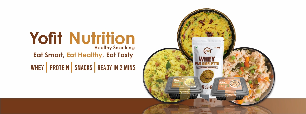 YoFit Nutrition Whey Protein Ready to Eat Meals Snacks